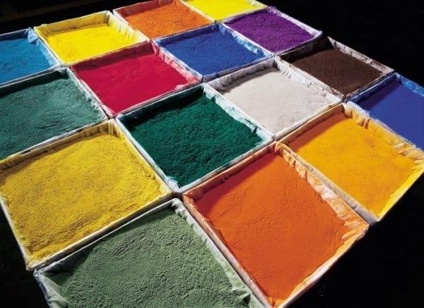 Эпоксидная порошковая краска разных цветов