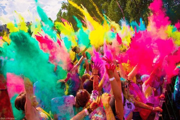 Фестиваль меловых красок