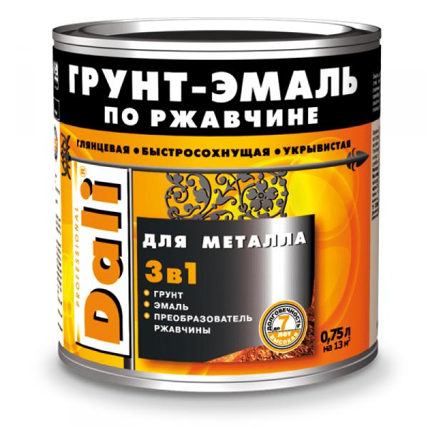 Грунт-эмаль по ржавчине для металла