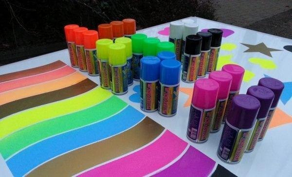 Меловая краска в баллончиках