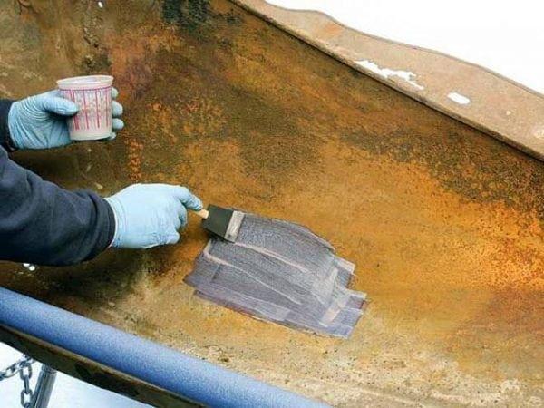 Нанесение антикоррозионной эмали на металл