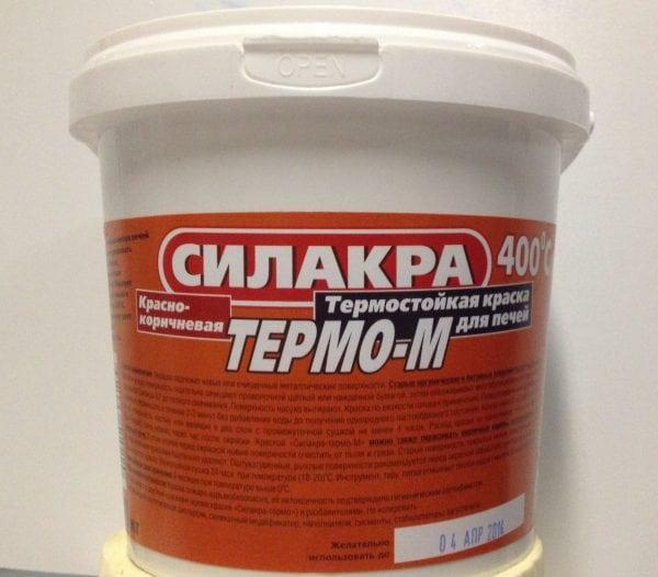 Термостойкая краска для бани и сауны