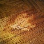 Смывка краски с деревянной поверхности