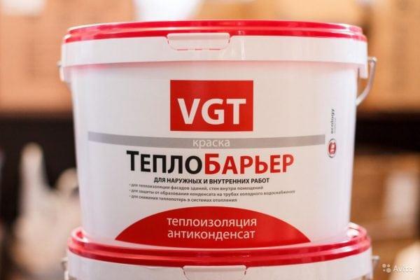 Краски ТеплоБарьер от VGT