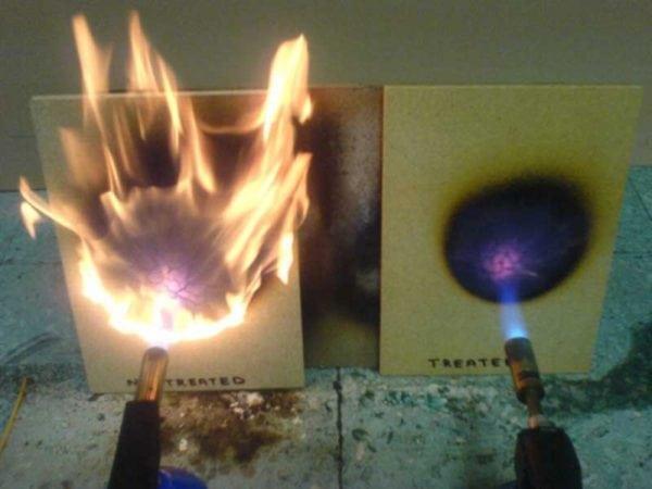 Эффект жаропрочной краски