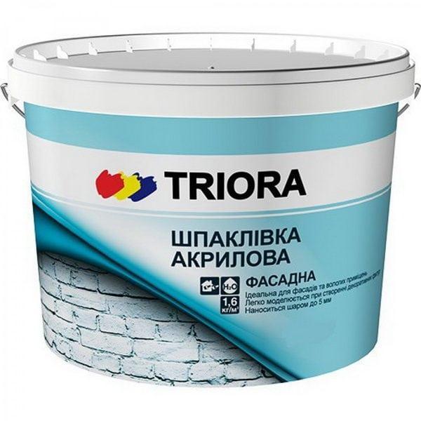 Акриловая фасадная шпатлевка TRIORA