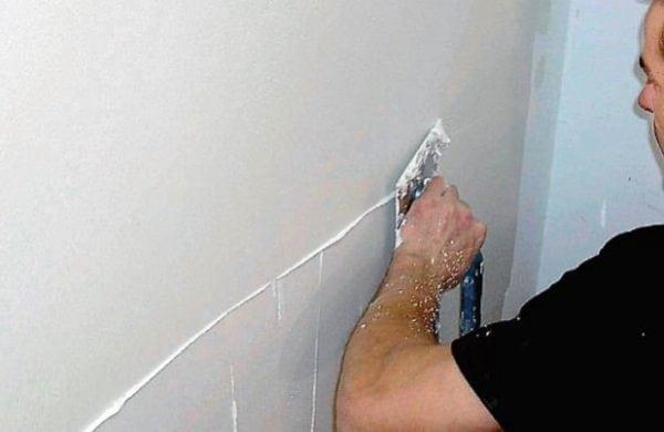 Финишная шпаклевка стен под покраску