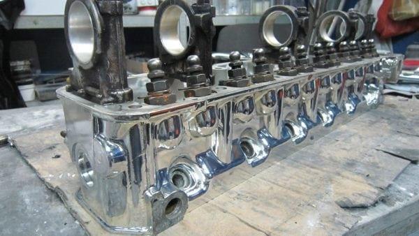 Восстановление двигателя авто - металлизация хромом