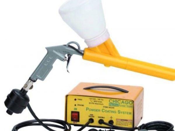 Электростатическая покраска - технология и особенности нанесения
