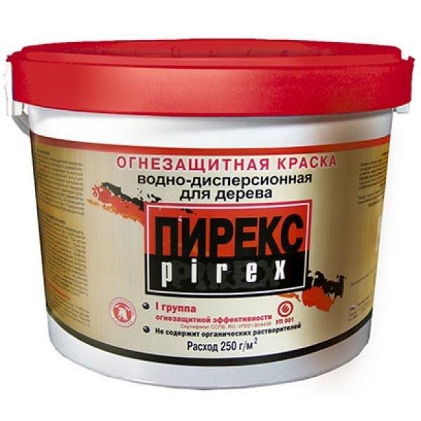 Водоэмульсионная огнестойкая краска для наружных работ