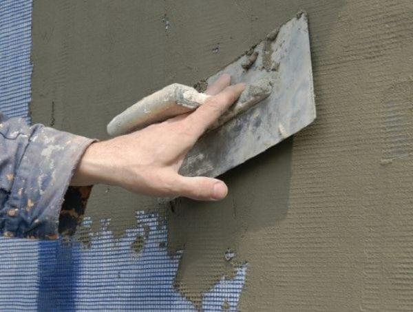 Шпаклевание пенопластовых стен