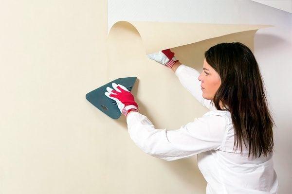 Основные правила наклеки обоев на стены