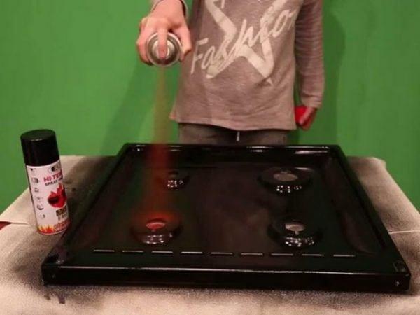 Краска для газовой плиты