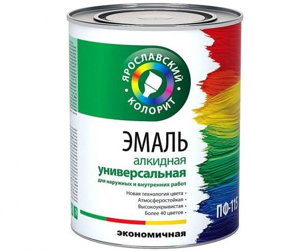 """Эмаль ПФ-115 универсальная """"Ярославский колорит"""""""