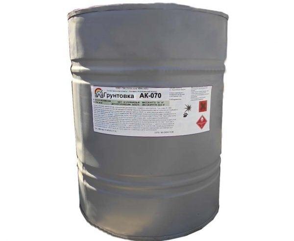 Для подготовки поверхности под покраску используют грунт АК-070