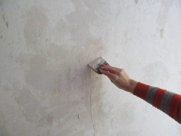 Подготовка стены под грунт