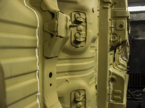 Защита днища автомобиля грунтом АК-070