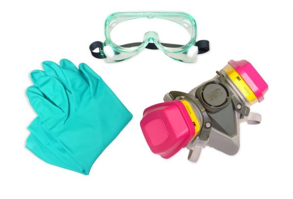 Индивидуальные средства защиты для работы с краской