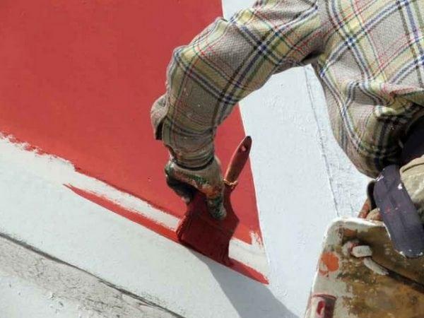 Фасадная краска на перхлорвиниловой основе