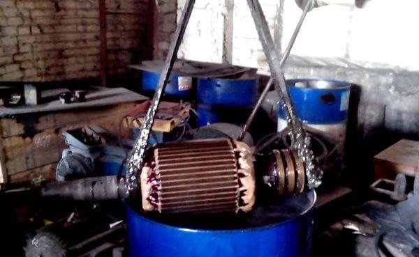 КО-916К используется для пропитки обмоток электрооборудования