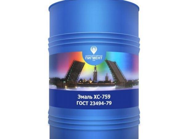 Химстойкая эмаль ХС-759