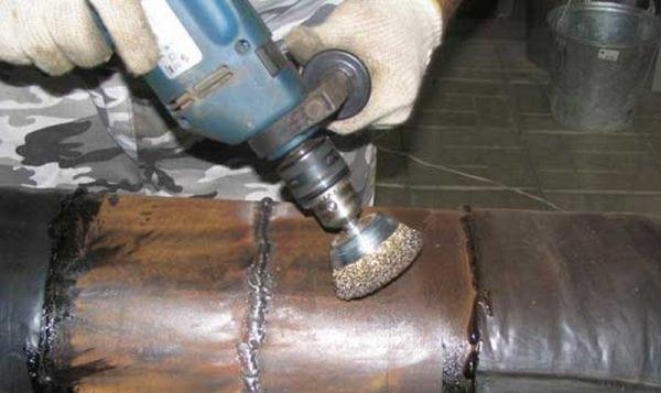 Подготовка металлической поверхности под покраску ОС 51-03