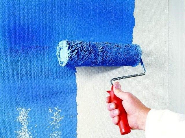 Малярный стеклохолст для чего нужен как клеить красить