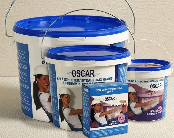 Клей Oskar для стеклообоев в ассортименте