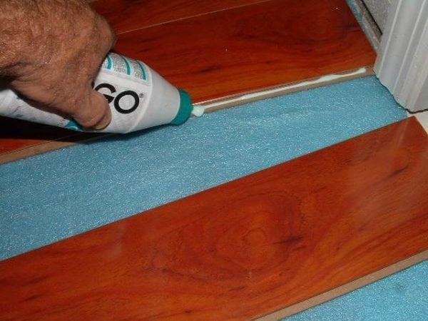 Клей для напольного покрытия