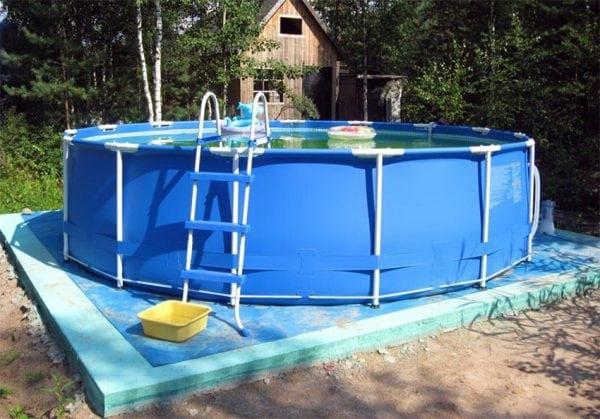 Каркасная конструкция для бассейна
