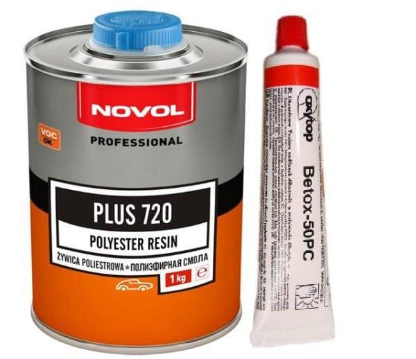 Полиэфирная смола Novol Plus 720 с Бутаноксом