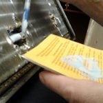 Использование клея для ремонта радиатора охлаждения