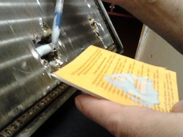 Радиатор алюминиевый как запаять: пошаговая инструкция и рекомендации