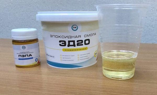Эпоксидная смола ЭД-20 – свойства, технические характеристики, инструкция по применению