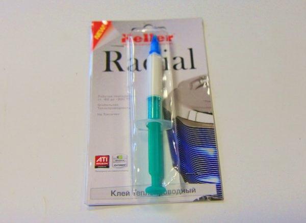 Термоклей Radial для светодиодов