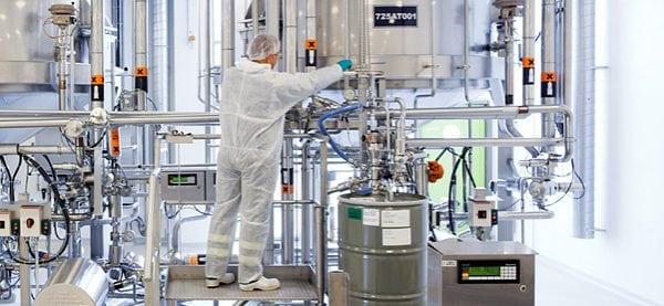 Промышленная установка для синтеза фенолформальдегидных смол