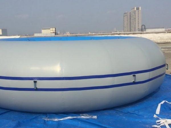 Ремонт надувного бассейна