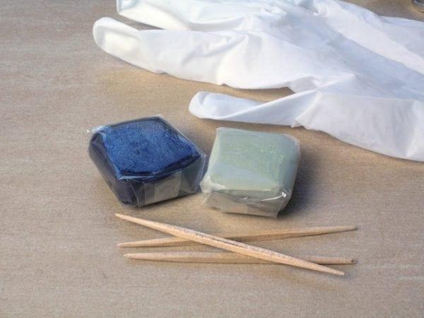 Пластилин на основе эпоксидных смол