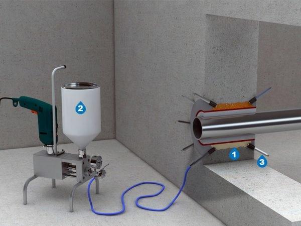 Герметизация технологических отверстий методом инъетирования