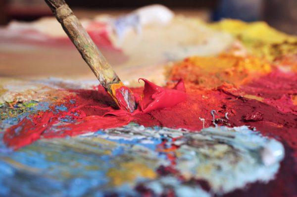 Получение бордового цвета из основных цветов