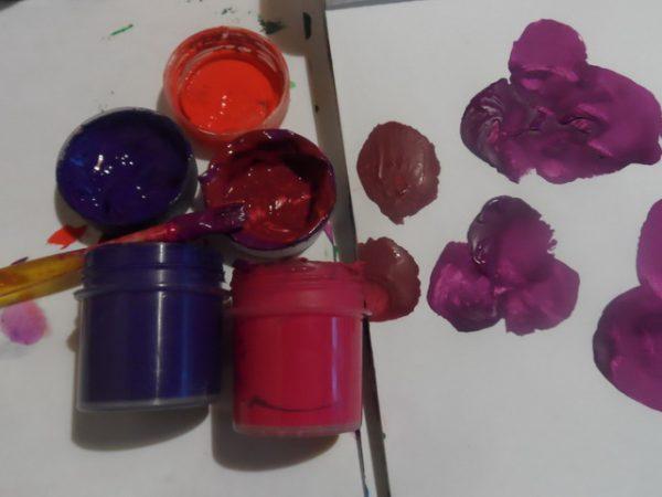 Бордовый цвет для рисования