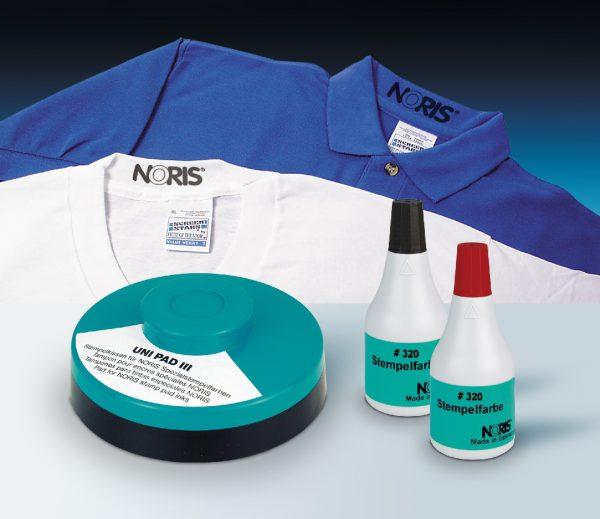 Для окраски тканей можно использовать штемпельные краски