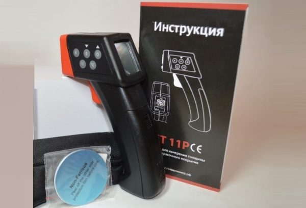 Электромагнитный толщинометр для авто