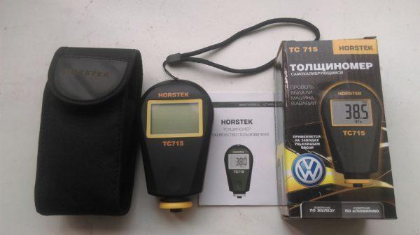 Самокалибрующийся толщинометр для проверки краски авто