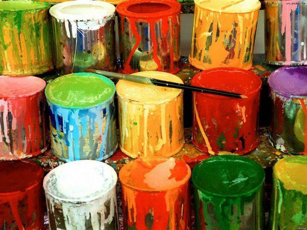 Плотность различных видов краски