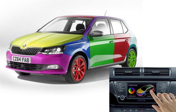 Использование парамагнитной краски позволяет изменять цвет автомобиля