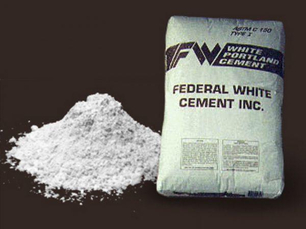 Для получения цветного бетона обычно используют белый портландцемент