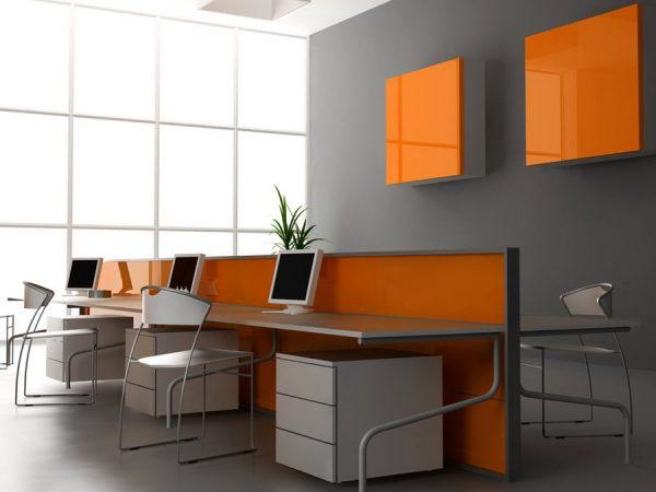 Цветовое оформление офисного помещения