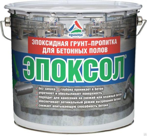 Эпоксидная грунт-пропитка для бетонных полов