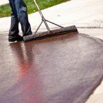 Окрашивание бетонных поверхностей
